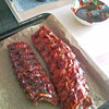 Barbecued Pork Spare Ribs (im Ofen)